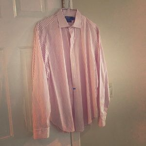 Polo button down dry cleaned non smoker like new